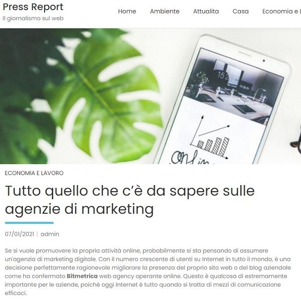 press-report